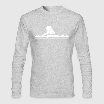 DJ Booth - Men's Long Sleeve T-Shirt by Next Level