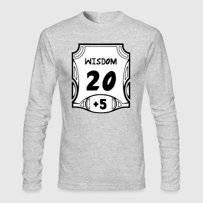 Alternate All of the Wisdom - Men's Long Sleeve T-Shirt by Next Level