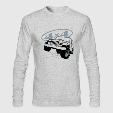 Jeep 4x4 Offroad - Men's Long Sleeve T-Shirt by Next Level