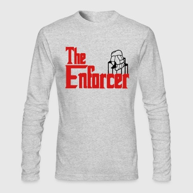 The Enforcer (hockey) - Men's Long Sleeve T-Shirt by Next Level
