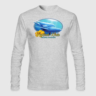 humpback whale - Men's Long Sleeve T-Shirt by Next Level