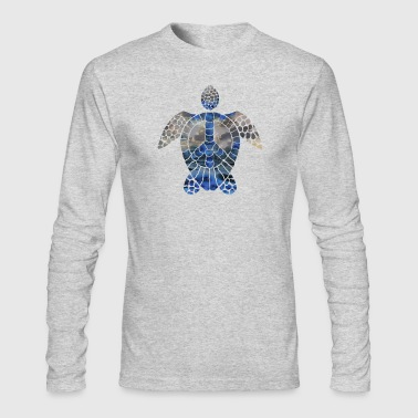 Peace turtle-01 - Men's Long Sleeve T-Shirt by Next Level