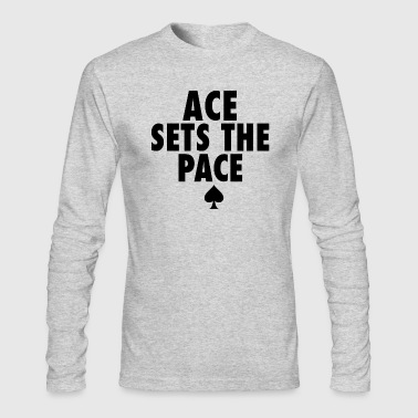 Ace Club - Men's Long Sleeve T-Shirt by Next Level
