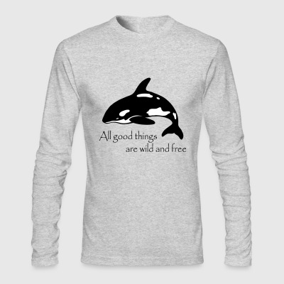 End Captivity - Men's Long Sleeve T-Shirt by Next Level