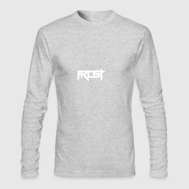 FROST TEXT LOGO - Men's Long Sleeve T-Shirt by Next Level