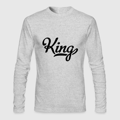 king - Men's Long Sleeve T-Shirt by Next Level