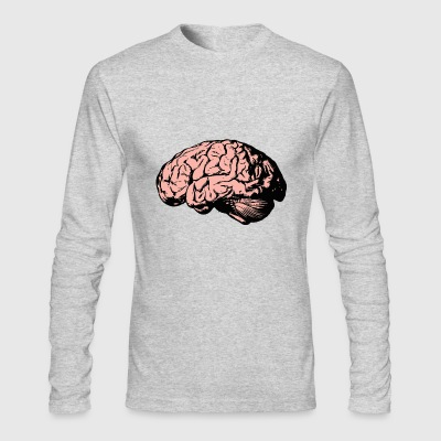 brain - Men's Long Sleeve T-Shirt by Next Level