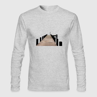 dock - Men's Long Sleeve T-Shirt by Next Level