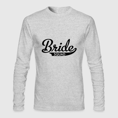 bride squad - Men's Long Sleeve T-Shirt by Next Level