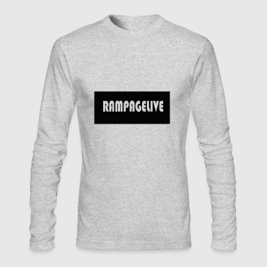 RAMPAGELIVE - Men's Long Sleeve T-Shirt by Next Level