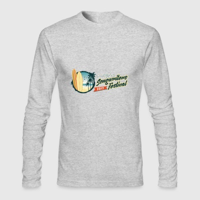 Pensacola Beach Songwriters Festival 2017 - Men's Long Sleeve T-Shirt by Next Level