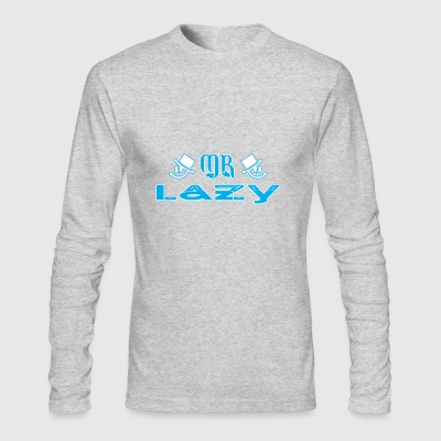 Mr Lazy - Men's Long Sleeve T-Shirt by Next Level