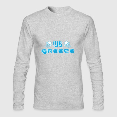 Mr Greece - Men's Long Sleeve T-Shirt by Next Level