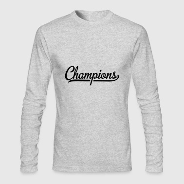 Champion - Men's Long Sleeve T-Shirt by Next Level