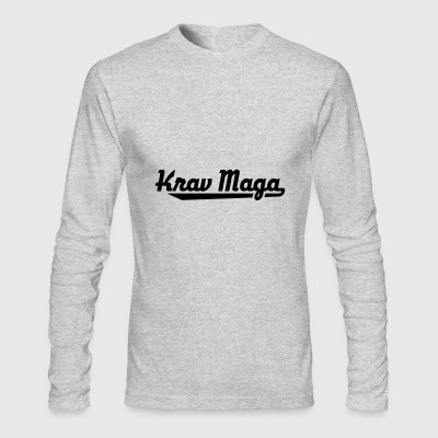 Krav Maga - Men's Long Sleeve T-Shirt by Next Level
