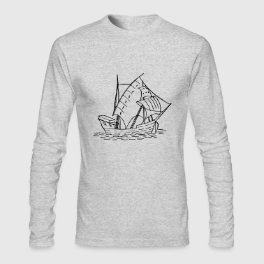 sailboat - Men's Long Sleeve T-Shirt by Next Level