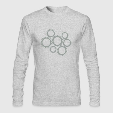 Gears - Men's Long Sleeve T-Shirt by Next Level