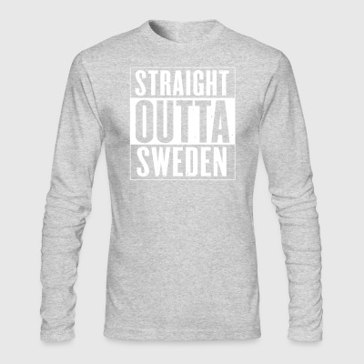 STRAIGHT OUTTA SWEDEN - Men's Long Sleeve T-Shirt by Next Level
