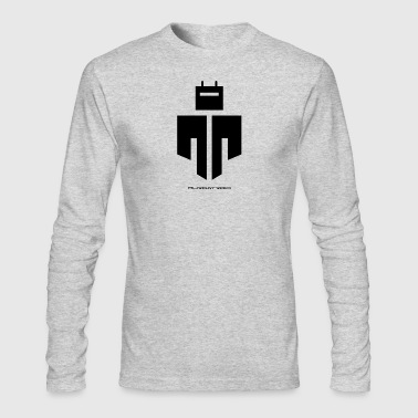 Murgatroid Robot Logo - Men's Long Sleeve T-Shirt by Next Level