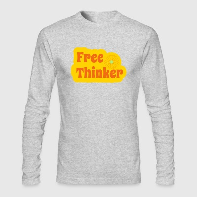 Free Thinker - Men's Long Sleeve T-Shirt by Next Level