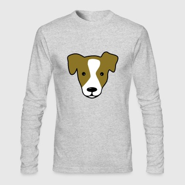 jack russell - Men's Long Sleeve T-Shirt by Next Level