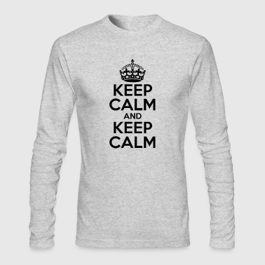 KEEP CALM AND KEEP CALM - Men's Long Sleeve T-Shirt by Next Level