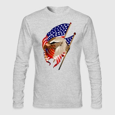 Patriotic - Men's Long Sleeve T-Shirt by Next Level