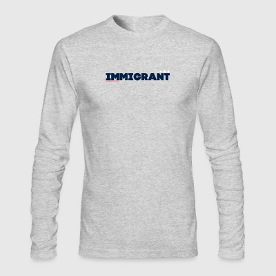 Immigrant America - Men's Long Sleeve T-Shirt by Next Level