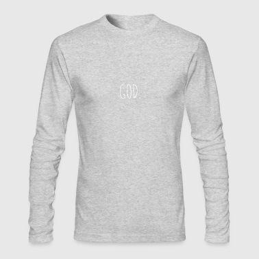 GOD - Men's Long Sleeve T-Shirt by Next Level