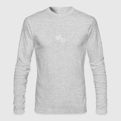 fingerprint fingerabdruck dna dns love biker ride - Men's Long Sleeve T-Shirt by Next Level