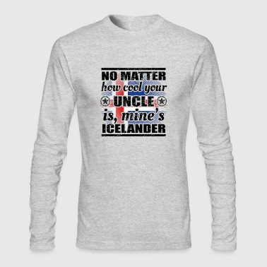 no matter uncle cool onkel gift Island png - Men's Long Sleeve T-Shirt by Next Level