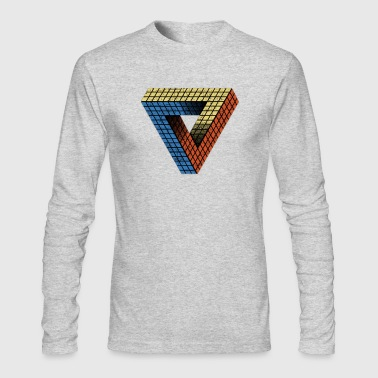 Penrose Puzzle - Men's Long Sleeve T-Shirt by Next Level