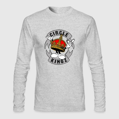 circle kingz - Men's Long Sleeve T-Shirt by Next Level