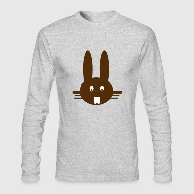 bunny - Men's Long Sleeve T-Shirt by Next Level