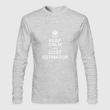 Keep Clam I Am A Cost Estimator Shirt - Men's Long Sleeve T-Shirt by Next Level