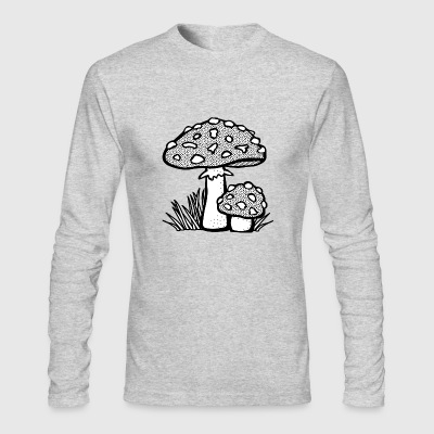 mushroom - Men's Long Sleeve T-Shirt by Next Level