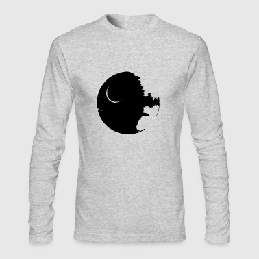 Death Star - Men's Long Sleeve T-Shirt by Next Level