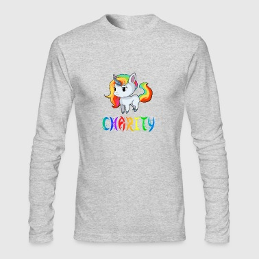 Charity Unicorn - Men's Long Sleeve T-Shirt by Next Level