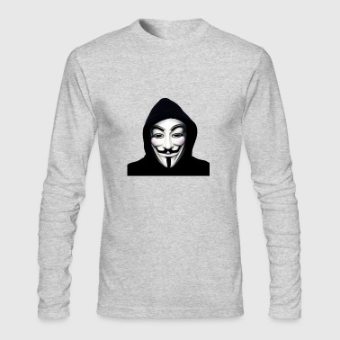 Anonymous 1 - Men's Long Sleeve T-Shirt by Next Level