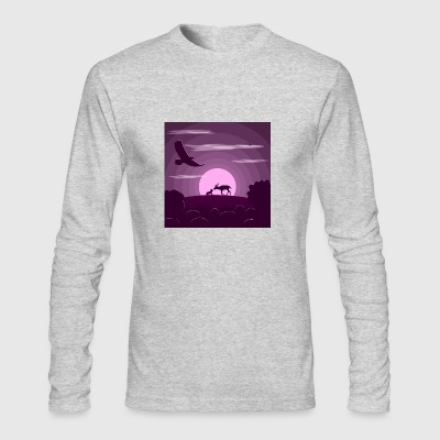 Night wild life - Men's Long Sleeve T-Shirt by Next Level