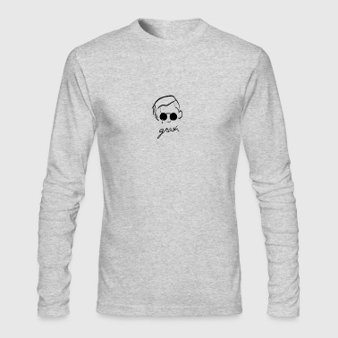 Gnash Illustration - Men's Long Sleeve T-Shirt by Next Level