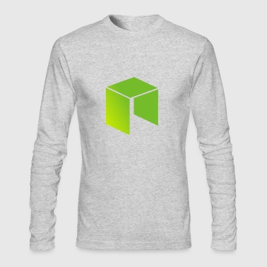 Neo Cryptocurrency logo - Men's Long Sleeve T-Shirt by Next Level