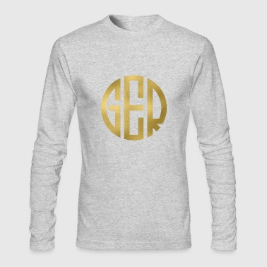 MONOGRAM CIRCLE GERMANY - Men's Long Sleeve T-Shirt by Next Level