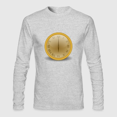 clock - Men's Long Sleeve T-Shirt by Next Level