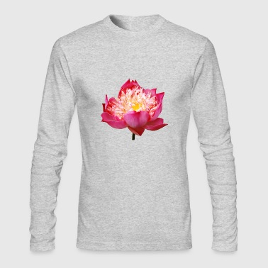 lotus flowers blume garten garden - Men's Long Sleeve T-Shirt by Next Level