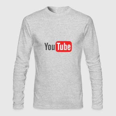 The Youtube Merch - Men's Long Sleeve T-Shirt by Next Level