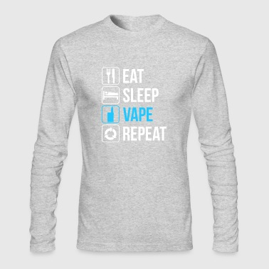 Eat Sleep Vape - Men's Long Sleeve T-Shirt by Next Level