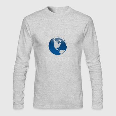 world traveler - Men's Long Sleeve T-Shirt by Next Level