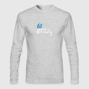 6th anniversary - Men's Long Sleeve T-Shirt by Next Level