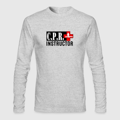 CPR INSTRUCTOR NEW FONT - Men's Long Sleeve T-Shirt by Next Level